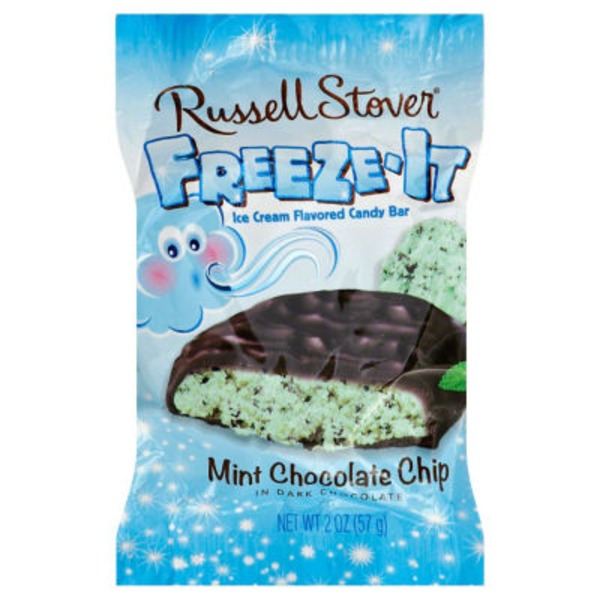 Russell Stover Freeze-It Ice Cream Flavored Candy Bar Vanilla Bean