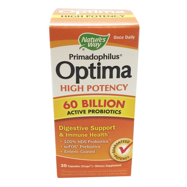 Nature's Way Probiotics High Potency Capsules