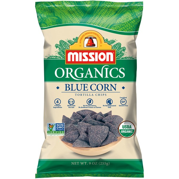Mission Blue Corn Tortilla Chips