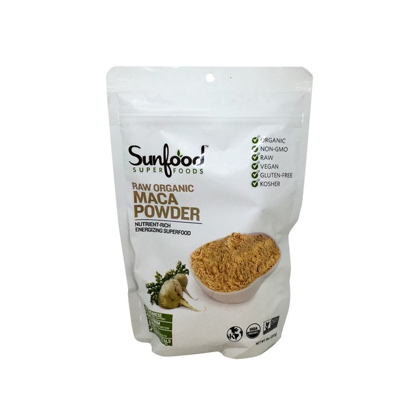Sunfood Superfoods Raw Organic Maca Powder
