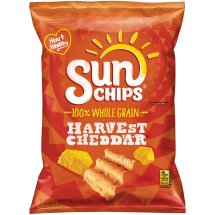 SunChips® Harvest Cheddar Flavored Whole Grain Snacks, 7 oz. Bag