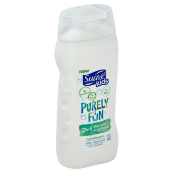 Suave Purely Fun 2 in 1 Shampoo and Conditioner