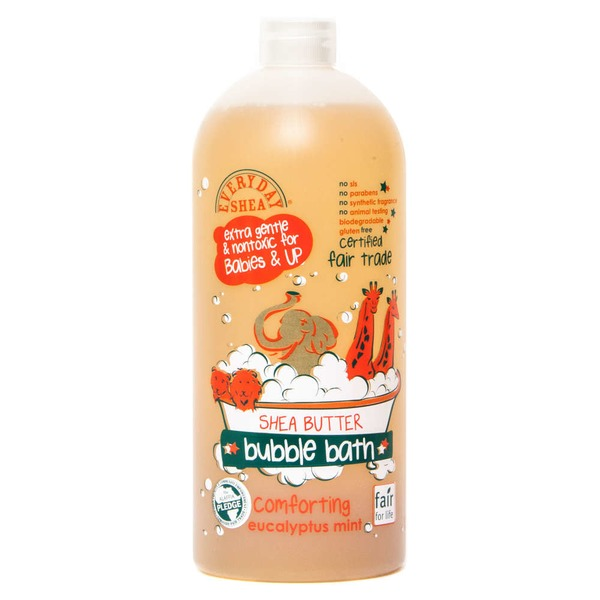 Everyday Shea Eucalyptus Mint Bubble Bath