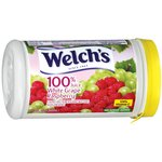 Welchs Frozen 100% White Grape Raspberry Juice Concentrate 11.5 Fl Oz
