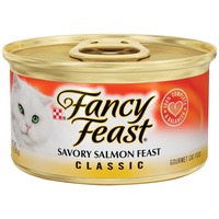 Fancy Feast Wet Classic Savory Salmon Feast Cat Food
