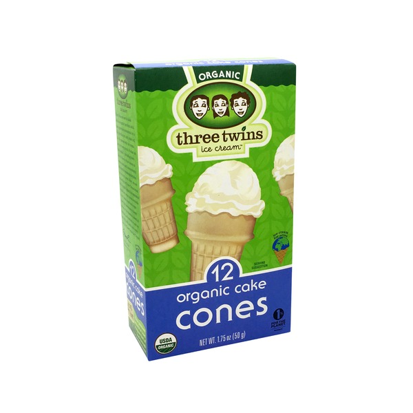 Three Twins Organic Cake Cones