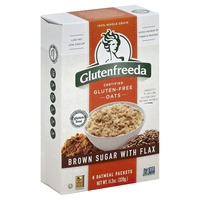 Glutenfreeda Oatmeal, Brown Sugar with Flax