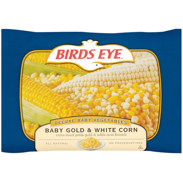 Birds Eye Gold & White Baby Corn