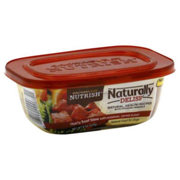 Nutrish Hearty Beef Stew with Potatoes, Carrots & Peas Dog Food