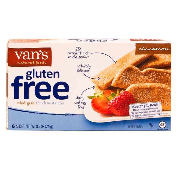 Van's Gluten Free French Toast Sticks Cinnamon - 6 CT