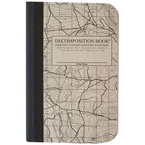 Decomposition Book Topo Map Notebook
