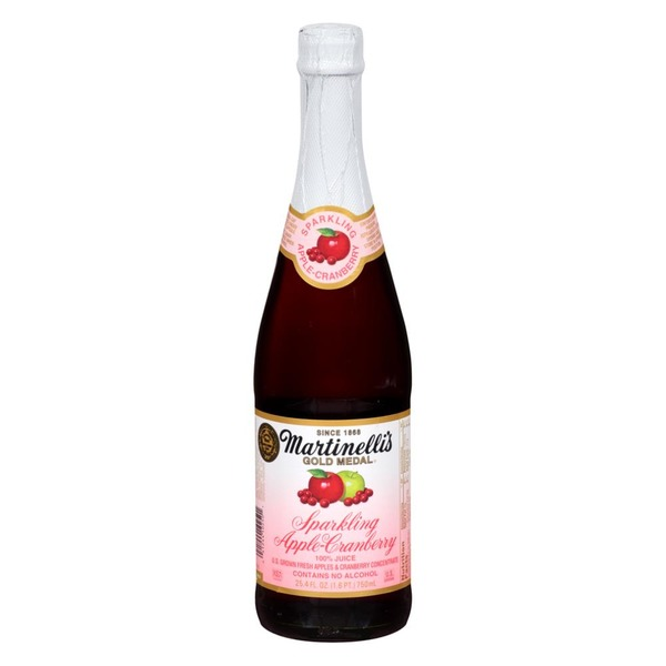 Martinelli's Gold Medal® Sparkling Apple Cranberry 100% Juice