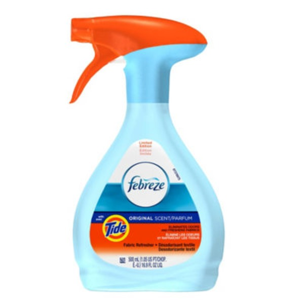 Febreze FABRIC Refresher with Tide, Original, 1 Count, 16.9 oz Air Care
