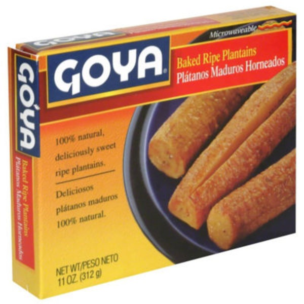 Goya Baked Ripe Plantains