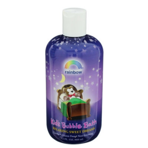 Rainbow Bubble Bath, for Kids, Relaxing