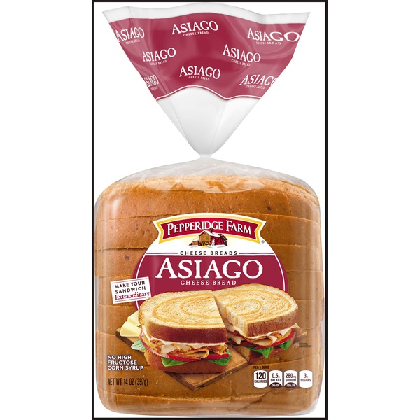 Pepperidge Farm Fresh Bakery Asiago Cheese Bread