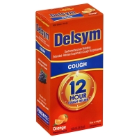 Delsym Adult Cough Relief Orange