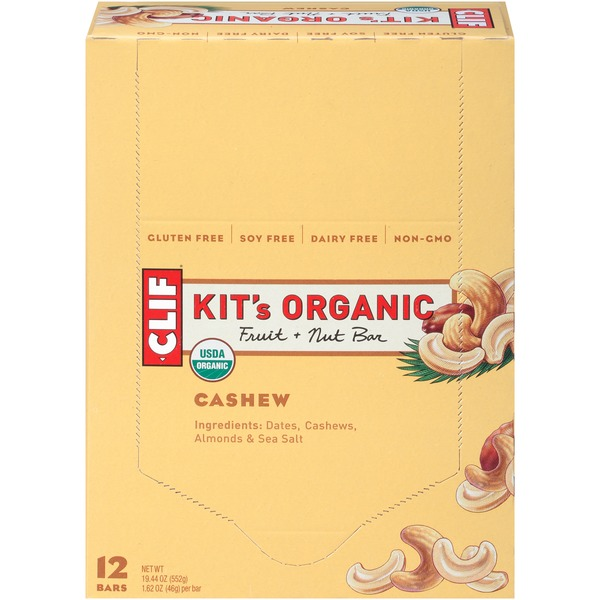 Kit's Organic Fruit & Nut Bar, Cashew Fruit + Nut Bar