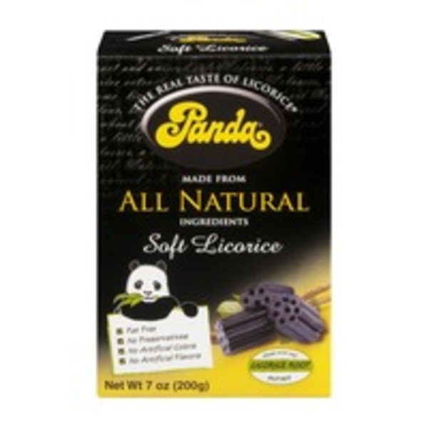 Panda Soft Licorice
