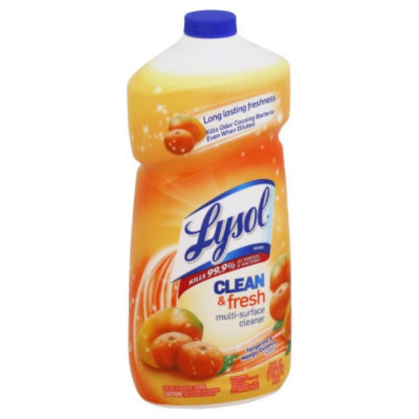 Lysol Clean & Fresh Tangerine & Mango Essence Scent Multi-Surface Cleaner