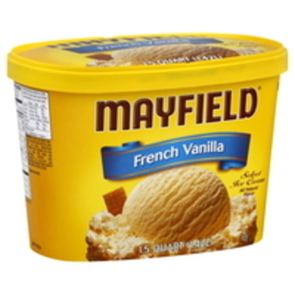 Mayfield French Vanilla Select Ice Cream