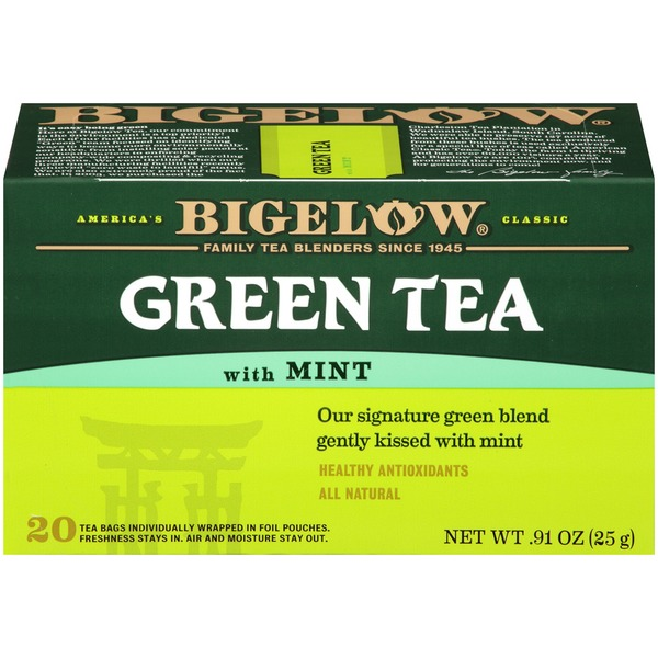 Bigelow Green Tea with Mint