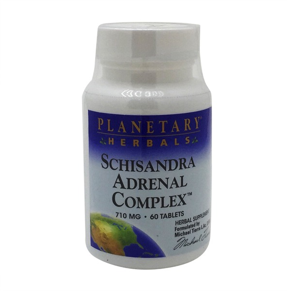 Planetary Herbals Schisandra Adrenal Complex Tablets