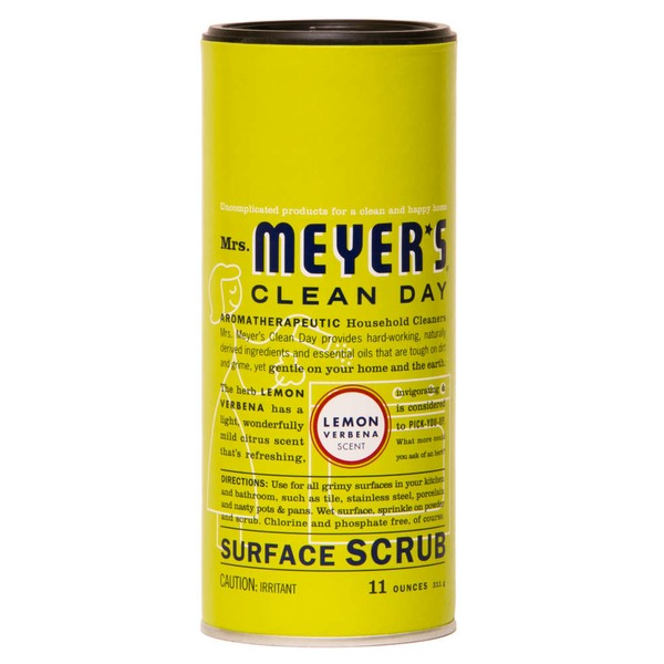 Mrs. Meyer's Lemon Verbena Scent Surface Scrub