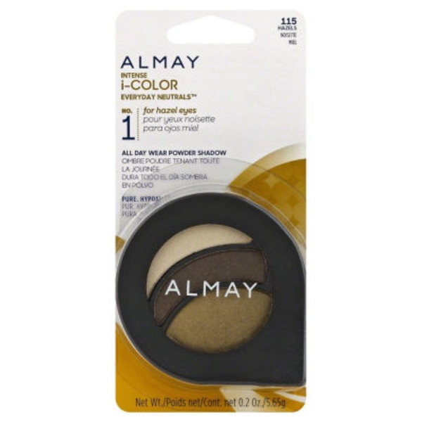 Almay Intense i-color Eyeshadow - Everyday Neutrals for Hazel Eyes 115