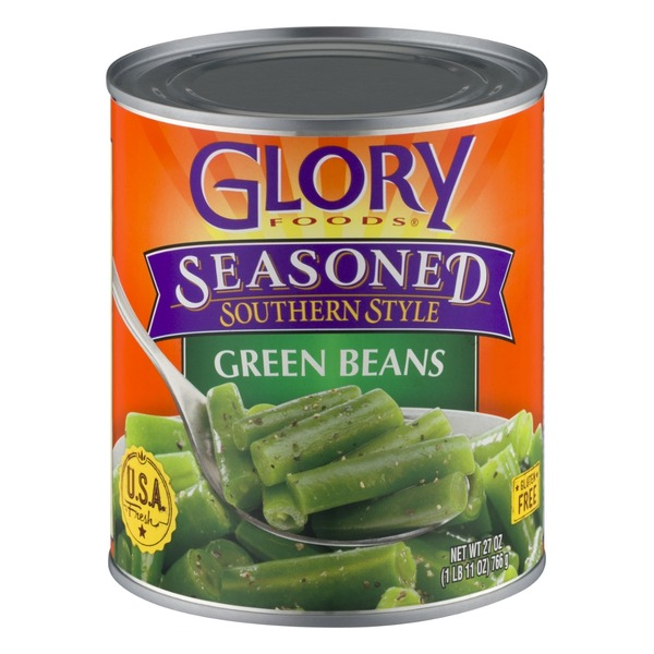 Glory Foods Seasoned Southerny Style Green Beans