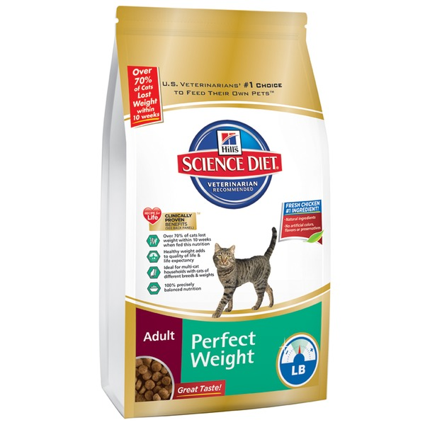 Hill's Science Diet Perfect Weight Chicken Recipe Adult Cat Food