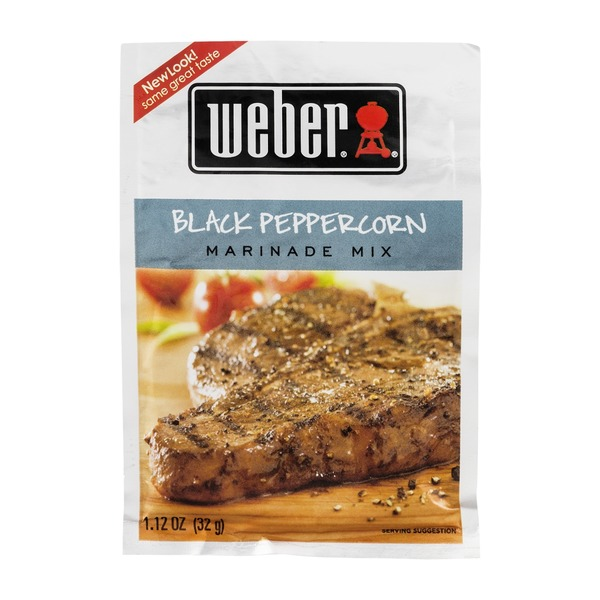 Weber Marinade Mix Black Peppercorn