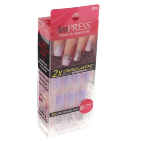 imPRESS Press-On Manicure One-Step Gel Harlem Shake - 30 CT