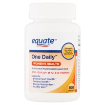 Equate 1-daily Womens 100 Ct