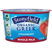 Stonyfield Organic Organic Strawberry Greek Yogurt