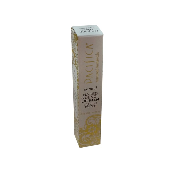 Pacifica Natural Naked Quench Lip Balm Coconut Cherry