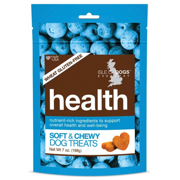 Isle of Dogs Natural Health Soft and Chewy Dog Treats