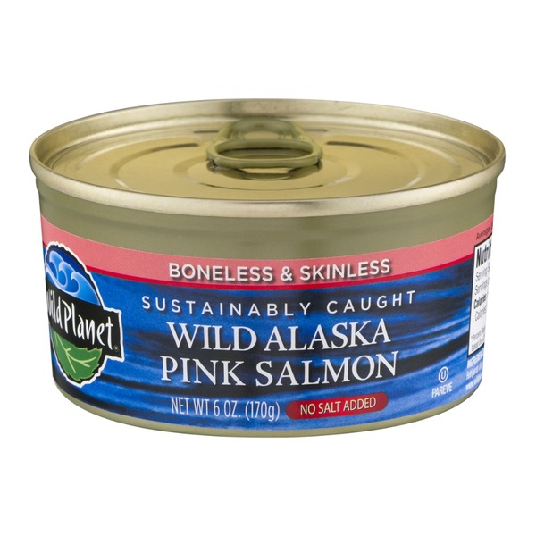 Wild Planet Wild Alaska Pink Salmon No Salt Added