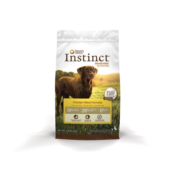Nature's Variety Instinct Grain Free Chicken Meal Dog Food