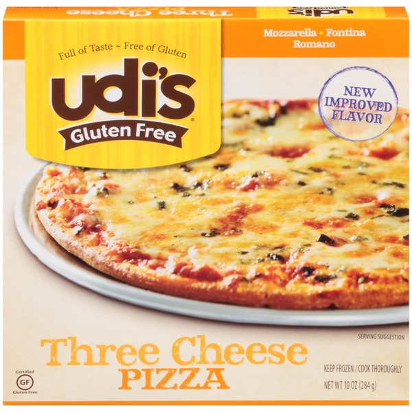 Udi's Gluten Free Three Cheese Pizza
