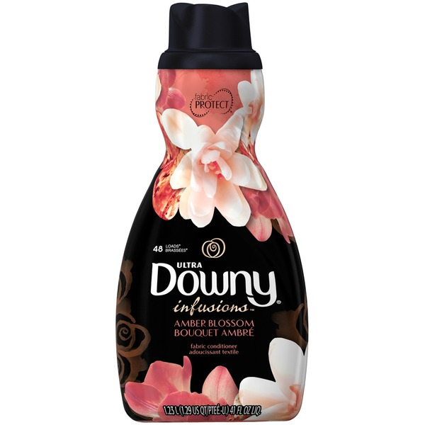 Downy Infusions Ultra Downy Infusions Amber Blossom Liquid Fabric Conditioner 41 FL Oz Fabric Enhancers