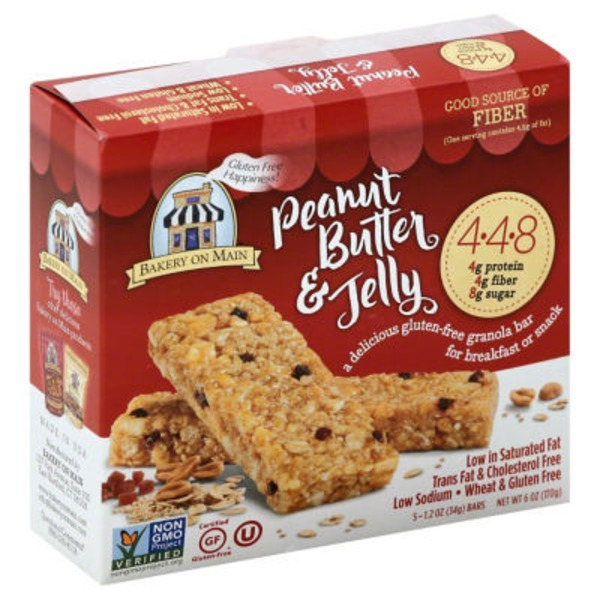Bakery on Main Peanut Butter & Jelly Granola Bar