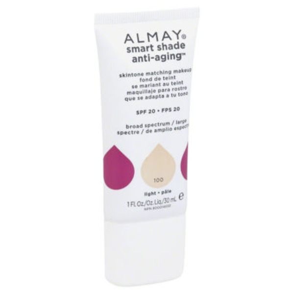 Almay Smart Shade Anti-Aging Skintone Matching Makeup - Light