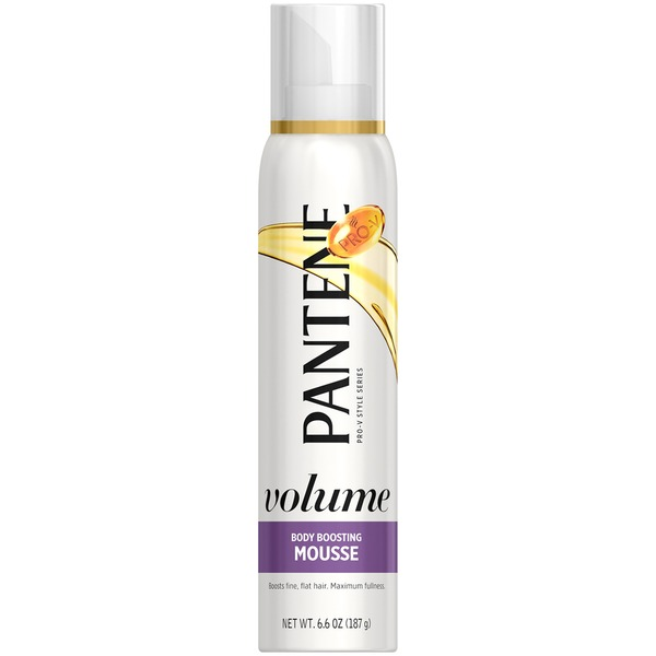 Pantene Triple Action Volume Pantene Sheer Volume Body Boosting Mousse 6.6 oz  Female Hair Care