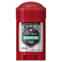 Old Spice Hardest Working Collection Sweat Defense Anti-Perspirant Deodorant, Pure Sport Plus, 2.6 Ounce