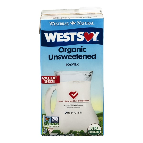 Westbrae Natural West Soymilk