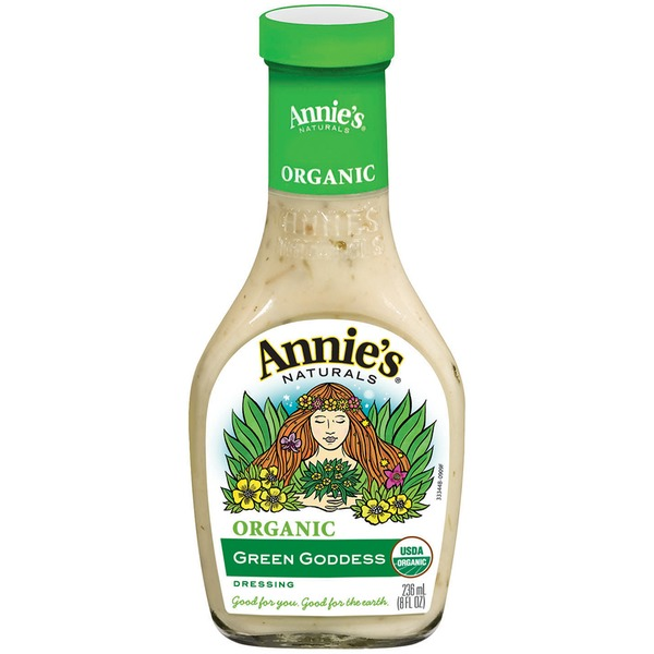 Annie's Homegrown Organic Green Goddess Dressing Organic