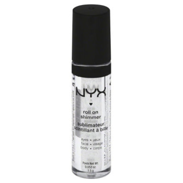 NYX Roll On Shimmer Platinum