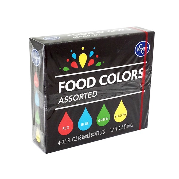 Kroger Food Colors