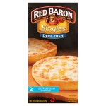 Red Baron® Singles Deep Dish 4 Cheese Pizzas 11.20 oz. Box